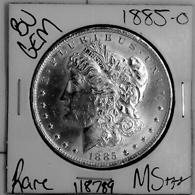 $20 • Buy 1885 O GEM Morgan Silver Dollar #118789 BU MS+++ UNC Coin Free Shipping