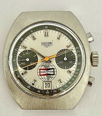 $ CDN3180.37 • Buy Heuer Vintage Champion Chronograph Watch
