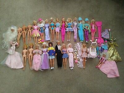 $ CDN15.50 • Buy Mattel BARBIE Dolls Lot - Various Clothing Styles Babies Vintage 1966 To 1990's