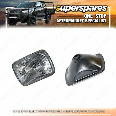 AU93.36 • Buy Superspares Universal 7 X 5 Square Headlight For Jeep Grand Cherokee ZG ZJ 96-99
