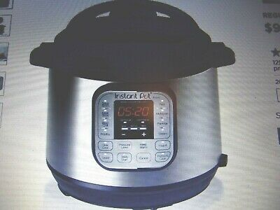 $75 • Buy Instant Pot DUO60 6 Qt 7-in-1 Multi-Use Programmable Pressure Cooker Slow Cooker