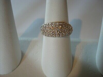$12.99 • Buy Charles Winston Pave CZ Dome Ring 925 SS Size 8.5