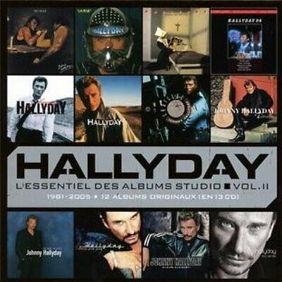 AU140.99 • Buy Johnny Hallyday - L'essentiel Des Albums Studio 2 New Cd