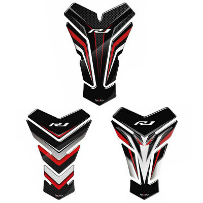 AU24.99 • Buy YAMAHA YZF 1000 R1 YZF-R1 3D Motorcycle Tank Pad Protector Decal Stickers Case