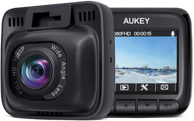 AU99.44 • Buy Aukey Dash Cam Fhd 1080P Car Camera With Supercapacitor And 170 Degrees Wide Ang