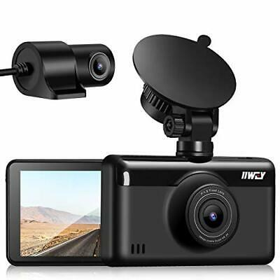 AU233.54 • Buy Dash Cam Dual Front And Rear 1440P & 1080P Built-in GPS & WIFI 3  Touch Screen