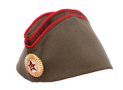 £10.61 • Buy RUSSIAN USSR Army Soviet Officer Military Hat Pilotka