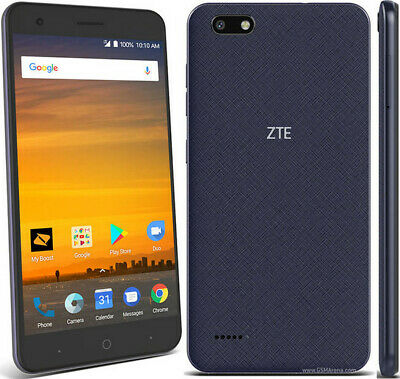$29.95 • Buy ZTE Blade Force | Grade A+ | Sprint | Blue | 16 GB | 5.5 In Screen