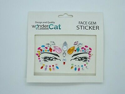 Face Gem Adhesive Glitter Jewel Sticker Tattoo Festival Style Party Body Make Up • 1.99£