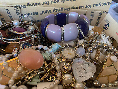 $ CDN17.64 • Buy Vintage To Now Jewelry Lot Unsearched Untested Estate Finds R1