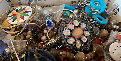 $ CDN17.64 • Buy Vintage To Now Jewelry Lot Unsearched Untested Estate Finds J4