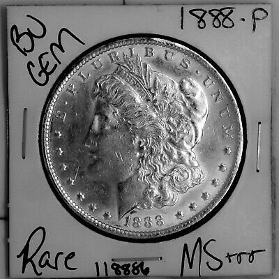 $6.49 • Buy 1888 GEM Morgan Silver Dollar #118886 BU MS+++ UNC Coin Free Shipping
