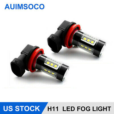 $7.77 • Buy For Nissan Car LED Lights H11 Fog Bulbs Parts Accessories White Headlight DRL X2