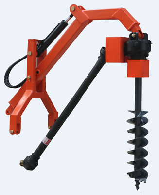 AU1690 • Buy Tractor 3PL Hydraulic Assist Post Hole Digger With Auger