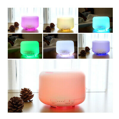 AU21.99 • Buy Electric Air Diffuser Aroma Oil Humidifier Night Light Up Home Relaxing Defuser