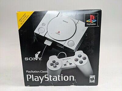 $62.50 • Buy New Sony PlayStation 1 Classic Mini Console Preloaded W/ 20  Games!