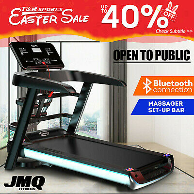 AU599.99 • Buy 15%OFF JMQ Fitness A6X Electric Treadmill Home Gym Exercise Machine Foldable AU*
