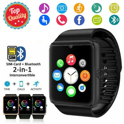 AU19.79 • Buy Smart Watch SIM Kids Women Man Wrist Phone Camera For Android Samsung IPhone IOS