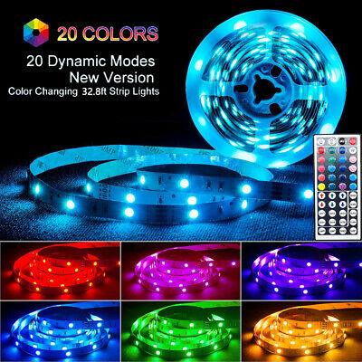 $8.99 • Buy Waterproof Flexible Strip Light RGB LED SMD Fairy Lights Room Party Bar W/Remote