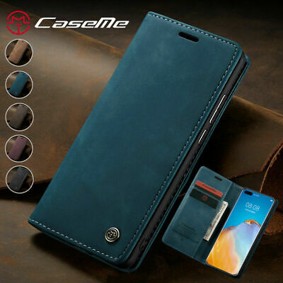 AU17.88 • Buy For IPhone 11 Pro SE XS Max X 8 7 Magnetic Luxury Leather Wallet Case Flip Cover