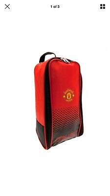 Manchester United Boot Bag - Fade Design Back To School Official F.C. Football • 5£
