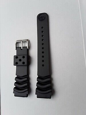 SEIKO Z22 BLACK RUBBER DIVER'S WATCH STRAP 22mm New Good Quality REPLACEMENT • 13£