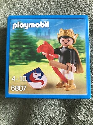 Playmobil 100% Complete Set 6807 Prince With Hobby Horse, Sword & Shield • 3.50£