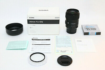$ CDN810.70 • Buy Sigma AF 35mm F/1.4 DG HSM Art Lens For Sony E SUPER SHARP BONUS 67mm UV A7 A7R