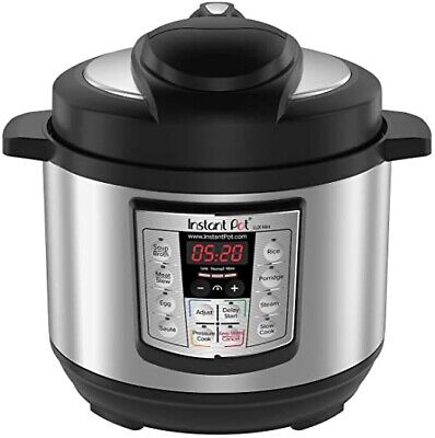 $39 • Buy Instant Pot LUX Mini 3-Quart 6-in-1 Multi-Use Programmable Pressure Cooker