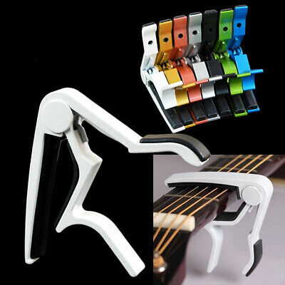 $ CDN4.80 • Buy Key Clamp Trigger Quick Change Guitar Capo For Electric / Classic / Acoustic