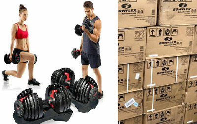 $ CDN583.08 • Buy SHIPS NOW!! Bowflex SelectTech 552 Adjustable Dumbbells PAIR IN HAND BRAND NEW!