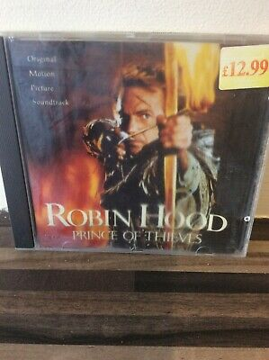 Robin Hood, Prince Of Thieves [Original Motion Picture Soundtrack]. CD Album • 2£