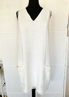 $26 • Buy Zara Linen Dress Size M Sold Out