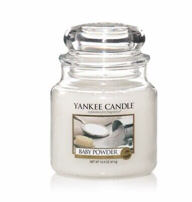 YANKEE CANDLE Baby Powder 411g • 18.99£