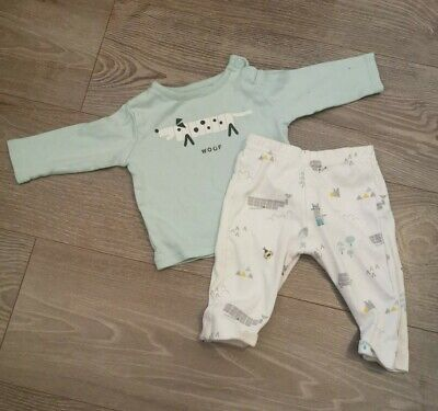Marks And Spencer M&S Baby Boy Outfit - Size 3-6 Months • 0.99£