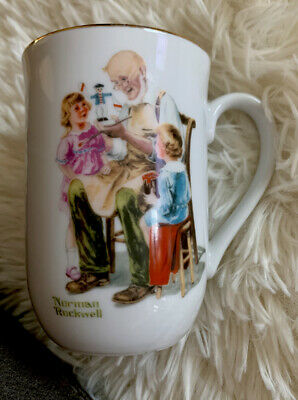 $ CDN5.02 • Buy Norman Rockwell Museum  The Toymaker  Collectible Mug, Vintage 1982 MINT