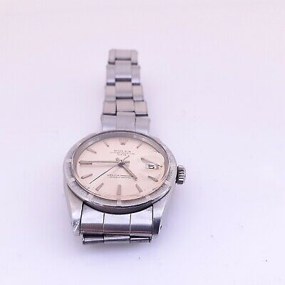 $ CDN3790.49 • Buy Vintage Rolex Date 34 Mm Steel Automatic Rivit Oyster Watch 1501 Circa 1965