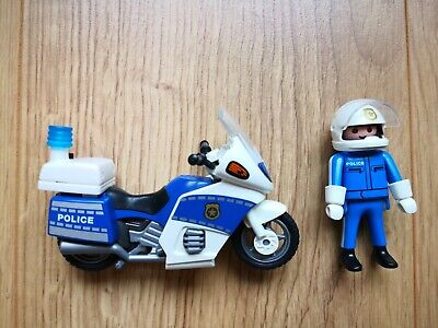Playmobil 6876 Police Motorcycle And Rider • 3.20£
