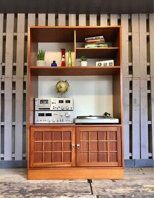 Younger Vintage Retro Sideboard Cabinet Wall Display Init Bookcase Media Unit • 150£