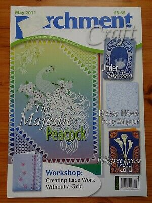 Parchment Craft  Magazine / Pattern Book    March  2011 • 1.75£