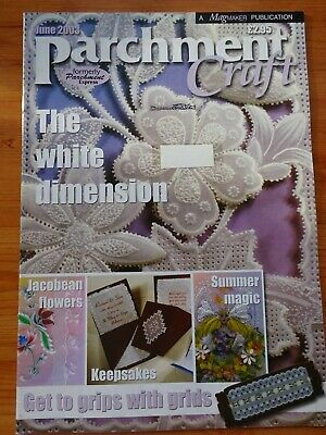 Parchment Craft  Magazine / Pattern Book   June  2003   • 1.75£