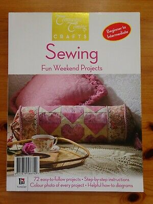 Sewing Fun Weekend Projects Sewing Pattern Book 72 Items • 2.50£