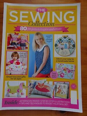 The Sewing Collection  Sewing Magazine Pattern Book  80 Projects. • 3.50£