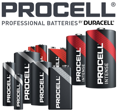 AU29.99 • Buy NEW Duracell Procell Industrial Alkaline Batteries AA AAA C D 9V & INTENSE