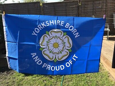 Yorkshire Flag 5x3 5ft X 3ft With Two Metal Eyelets • 8£
