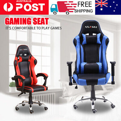 AU159.66 • Buy AYLESEA Gaming Chair Office Computer Leather Chairs Racer Executive Racing Seat