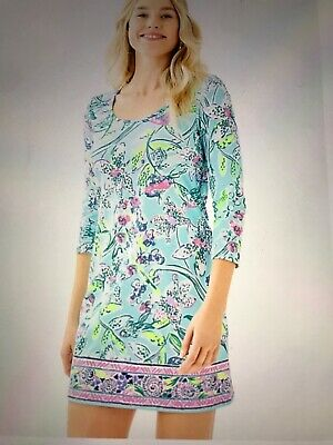 $41.90 • Buy Lilly Pulitzer Beacon Bali Blue Sway This Way Dress Size M NWOT