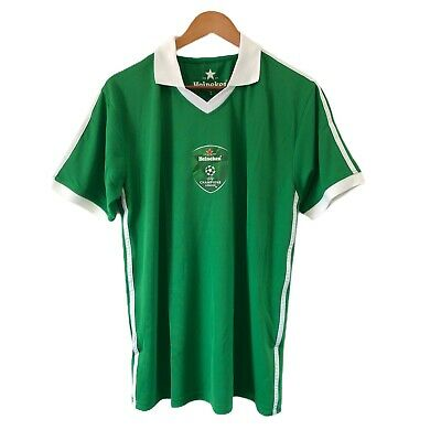 Mens Official Heineken Champions League Football Jersey T-Shirt Size L - EUC • 19.09£