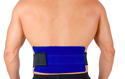 Hot & Cold Gel Pack For Back Pain Relief Injury Sciatica Lumbar Spine Heat Ice • 7.95£
