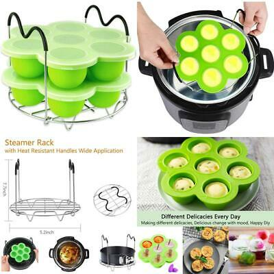$17.99 • Buy Silicone Egg Bites Molds For Instant Pot Accessories,Including Steamer Rack Triv